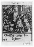 Küsel J. C.-Küsel M. M. (1688-1700), Gesù nel tempio tra i dottori