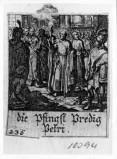 Küsel J. C.-Küsel M. M. (1688-1700), Primo discorso di S. Pietro