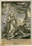 Calcografia Remondini prima metà sec. XVIII, S. Caterina d'Alessandria