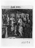 Küsel J. C.-Küsel M. M. (1688-1700), Gesù Cristo appare agli apostoli