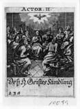 Küsel J. C.-Küsel M. M. (1688-1700), Discesa dello Spirito Santo