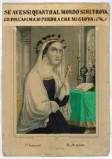 Stamperia Humbert e Wentzel sec. XIX, S. Francesca