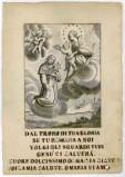 Calcografia Remondini sec. XVIII, Madonna con Bambino e S. Rosalia