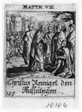Küsel J. C.-Küsel M. M. (1688-1700), Gesù Cristo guarisce il lebbroso