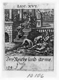 Küsel J. C.-Küsel M. M. (1688-1700), Lazzaro e il ricco epulone