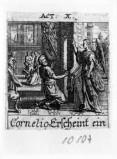Küsel J. C.-Küsel M. M. (1688-1700), Cornelio ha la visione e viene battezzato