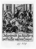 Küsel J. C.-Küsel M. M. (1688-1700), Cacciata dei mercanti dal tempio