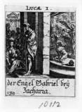Küsel J. C.-Küsel M. M. (1688-1700), S. Zaccaria riceve l'annuncio