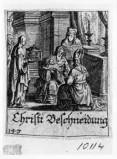 Küsel J. C.-Küsel M. M. (1688-1700), Circoncisione di Gesù Bambino