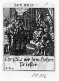 Küsel J. C.-Küsel M. M. (1688-1700), Gesù Cristo davanti al Sinedrio