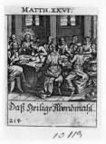 Küsel J. C.-Küsel M. M. (1688-1700), Ultima cena