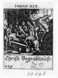 Küsel J. C.-Küsel M. M. (1688-1700), Gesù Cristo deposto nel sepolcro