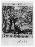 Küsel J. C.-Küsel M. M. (1688-1700), Gesù Cristo guarisce i dieci lebbrosi