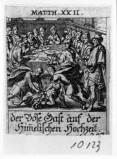 Küsel J. C.-Küsel M. M. (1688-1700), Parabola del banchetto di nozze