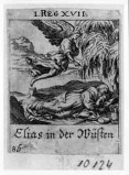 Küsel J. C.-Küsel M. M. (1688-1700), Apparizione dell'angelo a Elia