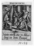 Küsel J. C.-Küsel M. M. (1688-1700), Giuda restituisce i denari nel tempio