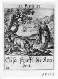 Küsel J. C.-Küsel M. M. (1688-1700), Maledizione di Eliseo sui bambini
