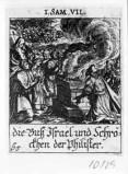 Küsel J. C.-Küsel M. M. (1688-1700), Samuele sacrifica un agnello