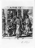 Küsel J. C.-Küsel M. M. (1688-1700), Anania battezza S. Paolo