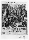 Küsel J. C.-Küsel M. M. (1688-1700), Gesù Cristo benedice i fanciulli