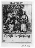 Küsel J. C.-Küsel M. M. (1688-1700), Gesù Cristo tentato da Satana