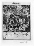 Küsel J. C.-Küsel M. M. (1688-1700), Sara deposta nel sepolcro