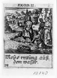 Küsel J. C.-Küsel M. M. (1688-1700), Mosè salvato dalle acque