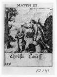 Küsel J. C.-Küsel M. M. (1688-1700), Battesimo di Gesù Cristo