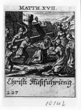 Küsel J. C.-Küsel M. M. (1688-1700), Gesù Cristo cade sotto la croce