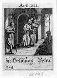 Küsel J. C.-Küsel M. M. (1688-1700), S. Pietro liberato dal carcere