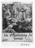 Küsel J. C.-Küsel M. M. (1688-1700), Prima visione di S. Giovanni Evangelista