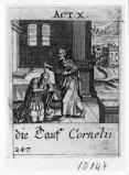 Küsel J. C.-Küsel M. M. (1688-1700), S. Pietro battezza il centurione Cornelio