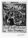 Küsel J. C.-Küsel M. M. (1688-1700), Giacobbe e Rachele al pozzo