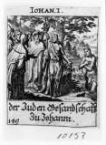 Küsel J. C.-Küsel M. M. (1688-1700), S. Giovanni Battista interrogato dai Giudei