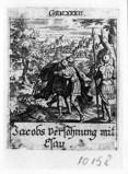 Küsel J. C.-Küsel M. M. (1688-1700), Giacobbe incontra Esaù