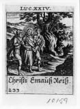 Küsel J. C.-Küsel M. M. (1688-1700), Gesù Cristo e i due discepoli di Emmaus