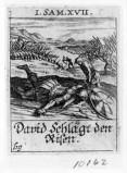 Küsel J. C.-Küsel M. M. (1688-1700), Davide decapita Golia