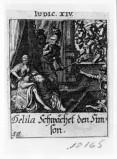 Küsel J. C.-Küsel M. M. (1688-1700), Sansone con Dalila e distruzione del tempio