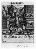 Küsel J. C.-Küsel M. M. (1688-1700), Mosè con offerte e l'Arca dell'alleanza