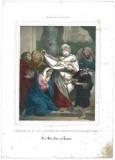 Stamperia Dopter e Maggiolo sec. XIX, Presentazione di Maria bambina al tempio