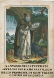 Stamperia Fontana M. prima metà sec. XIX, S. Antonio eremita