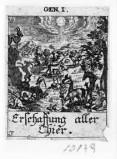 Küsel J. C.-Küsel M. M. (1688-1700), Creazione del cielo e della terra