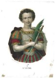 Stamperia Pinot e Sagaire seconda metà sec. XIX, S. Vittore