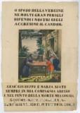Ambito italiano sec. XIX, Gesù fanciullo nella bottega di San Giuseppe