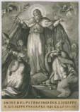 Calcografia Remondini seconda metà sec. XVIII, Patrocinio di S. Giuseppe