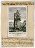 Ambito italiano fine sec. XVIII, S. Benedetto Giuseppe Labre