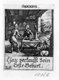 Küsel J. C.-Küsel M. M. (1688-1700), Esaù vende la primogenitura a Giacobbe