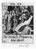 Küsel J. C.-Küsel M. M. (1688-1700), Pie donne al sepolcro