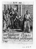 Küsel J. C.-Küsel M. M. (1688-1700), Elimas reso cieco da S. Paolo