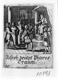 Küsel J. C.-Küsel M. M. (1688-1700), Giuseppe interpreta i sogni del faraone